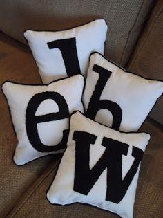 Pottery Barn Teen Look-alike Pillows