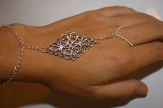 Hey, I found this really awesome Etsy listing at https://www.etsy.com/listing/109441326/silver-slave-bracelet-hand-chain-hand