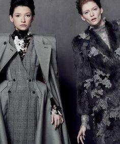 THOM BROWNE, MONIKA BOROWSKA & NATALIE KEYSER FOR SCENE MAGAZINE MAY 2013 | The Fashionography