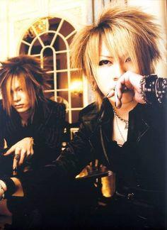 Uruha and Ruki ❣ The Gazette Band, Ruki The Gazette, Visual Kei, Drum Band, Important News, Sexy Men, Sexy Guys, Rock Bands, The Man