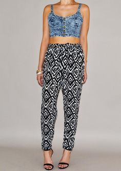 We are obsessed with this Acid Wash Crop Top!! Ikat pants will be up soon!! #fashion #womansfashion #shopping
