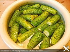 Quick pickled cucumbers in the Russian style - Einlegen - Cuban Recipes, Dutch Recipes, Irish Recipes, Russian Recipes, Greek Recipes, Style Russe, Borscht Soup, Russian Dishes, Kitchen