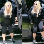 Jessica Simpson News - Jessica Simpson Hits Gym Amid Conflicting Reports Over Post-Baby Weight Loss Goals (PHOTO) - Celebuzz
