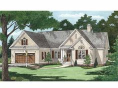 Eplans Traditional House Plan - Upscale Simplicity - 1568 Square Feet and 3 Bedrooms from Eplans - House Plan Code HWEPL75295