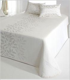 Colcha bouti albi colchas bouti fundas de cojines y colchas for Colcha blanca cama 150