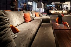 Salone del Mobile 2015: presenting the new sofa collections.