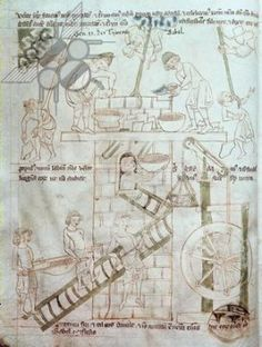 Illustration to the Velislav Bible  MS 23 C 124 folio 3  National University Library, Prague, Czech Republic  circa 134