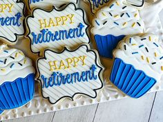 Cards For Men Friends Military Retirement Party Home Product Nurse Cookies, Crazy Cookies, Cut Out Cookies, How To Make Cookies, Sugar Cookie Royal Icing, Iced Sugar Cookies, Cookie Frosting, Cupcake Cookies, Cupcakes