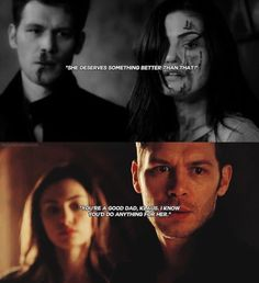 klaus and hayley development from season 3 to season 4! i love klayley and klope <3 #theoriginals