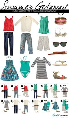 travel packing summer