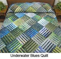 Underwater Blues Quilt