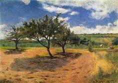 Apple-Trees in Blossom - Paul Gauguin