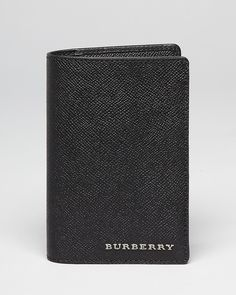 Burberry Newan Passport Holder