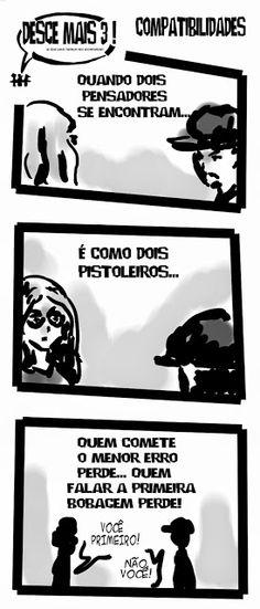 RABISCOS ENQUADRADOS: DESCE MAIS 3! Nº 165: DUELO