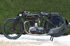"Classic Motorcycle 1928 SUNBEAM ""MODEL 9"""