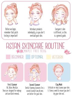 Looking to take your skincare routine to the next level? This is a guide to the Asian Beauty Skincare Routine, the Steps and the Products.