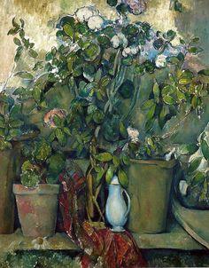 Paul Cézanne / Potted Plants, 1890