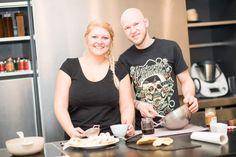 Martin und Verena (c) Michael Gruber Petra, Food, Baguette Recipe, Healthy Pizza, Eten, Meals, Diet