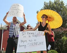 Photos: Westboro Baptist Church protests in Sioux City