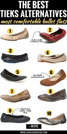 Best Tieks Alternative Ballet Flats That Will Make Your Feet Happy! These are the most comfortable ballet flats. Tieks Ballet Flats, Tieks Shoes, Leather Ballet Flats, Ballet Shoes, Ballet Feet, Pointe Shoes, Ballet Dancers, Shed Cake Ideas, Most Comfortable Ballet Flats