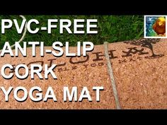 Pvc free non plastic #yoga mat made from cork I know you can find long strips of cork @ homedepot.