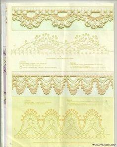 Mis Pasatiempos Amo el Crochet: Nueva colección de bordes y puntillas decorativas