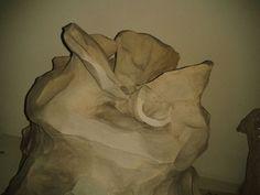 Teelichtofen: Tontöpfe werden im Inneren auf eine Gewindestange montiert; Teelichter oder Kerzen darunter - fertig! Painting, Art, Pictures, Candles, Painting Art, Paintings, Kunst, Paint, Draw