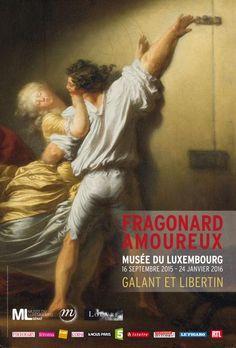 STOP AU DÉNI - L'affiche de l'exposition « Fragonard amoureux », quand la culture du viol s'invite au musée. - octobre 15