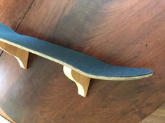 Skateboard Wall Shelf Single Shelf Skateboard Deck | Etsy Skateboard Shelves, Skateboard Room, Skateboard Decks, Wall Shelves, Shelf, Recycling, Wood, Etsy, Decor