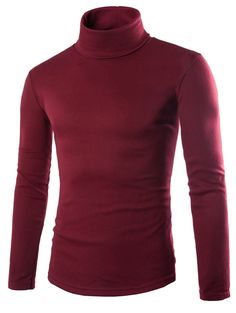 Left ROM 2018 New Men's Fashion Boutique Joining Thin Leisure Turtleneck Knitting A Sweater / Male Slim Casual Sweater Pullovers Casual Sweaters, Pullover Sweaters, Men Sweater, Cardigans, Turtleneck Style, Long Sleeve Turtleneck, Chicken Sweater, New Mens Fashion, Men's Fashion