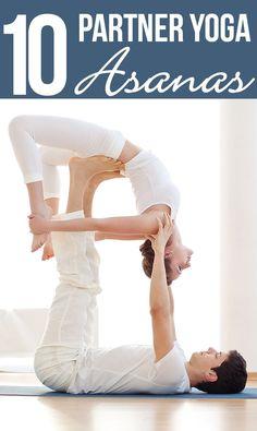 I Love Yoga!!! Me encanta el yoga en pareja, super como opción de fortalecimiento interior y exterior.