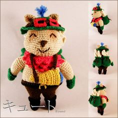 Amigurumi crochet pattern: Teemo, league of legends (Bonus pattern Teemo mushroom)