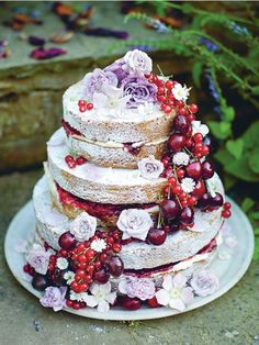 Fiona Cairns's recipe for summer cake and other baking recipes and afternoon tea recipes from Red Online Summer Cake Recipes, Summer Cakes, Wedding Cake Designs, Wedding Cakes, Classic Victoria Sandwich, Afternoon Tea Recipes, Cocktail Sticks, Engagement Cakes, Clotted Cream