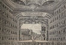 La Fenice theatre as it would have been when Becky visited Barcelona Cathedral, Venice, Mystery, Louvre, Building, Den, Travel, Theater, Viajes