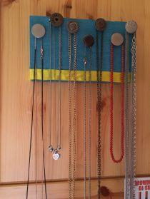 Porta collane fai da te – Necklace holder diy