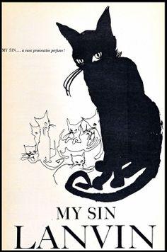 Mon Péché (My Sin) Lanvin créée en 1924 par Marie Zède
