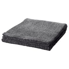 GURLI Throw - gray/black - IKEA