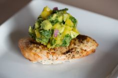 Paleo Zone Diet Grilled Chicken with Mango Salsa