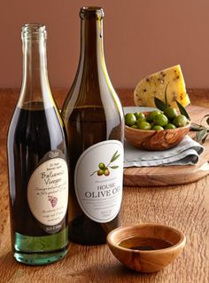 Williams-Sonoma House Olive Oil & Olivier 25-Year Barrel-Aged Balsamic Vinegar