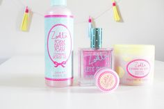 Zoella beauty 'tutti fruiti' omg i love her products beauty produ Beauty Art, Beauty Make Up, Hair Beauty, Zoella Beauty Range, Salon Signs, Beauty Background, Bath And Bodyworks, Eye Photography, Girls Makeup
