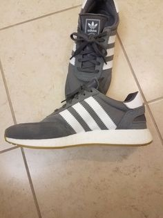 huge selection of 6afa2 dfb31 ADIDAS MENS I-5923 GREY Used 11.0  fashion  clothing  shoes  accessories   mensshoes  athleticshoes (ebay link)