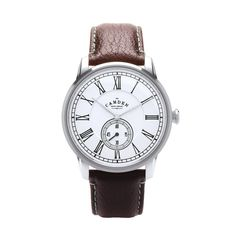 The Camden Watch Company No.29 Brown Strap and Black Accents