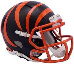 96ae0f5a3 Riddell Cincinnati Bengals Speed Blaze Alternate Mini Helmet   Reviews -  Sports Fan Shop By Lids - Men - Macy s