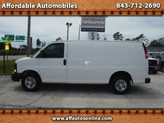 Used 2010 Chevrolet Express 2500 Cargo for Sale in Myrtle Beach SC 29577…