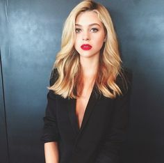 nicola peltz. Her makeup and hair is always on point