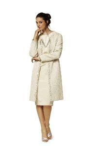 burda style: Plus - Kombinationen - Kombination: Shiftkleid & Mantel