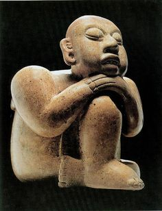Esfigie. (600-900 Maya, Chiapas, Museo Regional de Chiapas, Mexico)