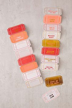 Love Tokens (great DIY idea for date night or Valentine's Day!)
