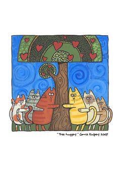Tree Huggers by Corrie Kuipers