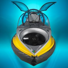 The Flying Hovercraft - Hammacher Schlemmer ok yeah at $190,000.00 I can dream!  but how cool is this?